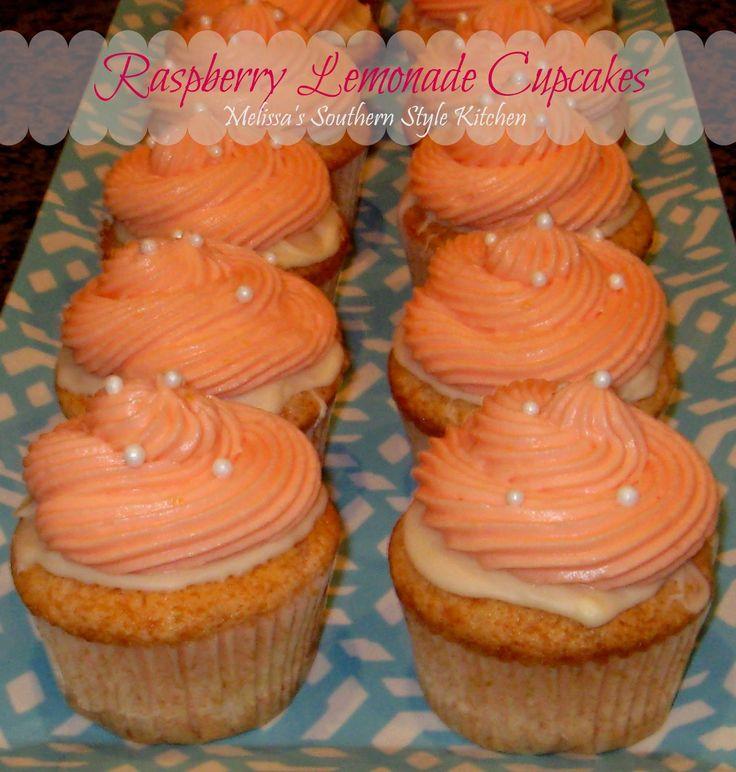 Raspberry Lemonade Cupcakes | Recipe | Style, Raspberry ...