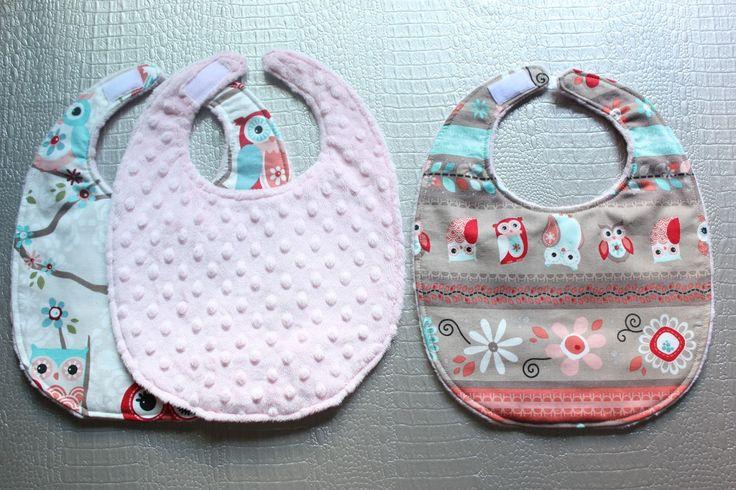 DIY: Cómo hacer baberos con tela minky ~ Sara's Code: Blog de Costura + DIY