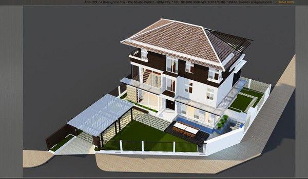 Mẫu Thiết Kế Villa Phú Mỹ Hưng Đẹp