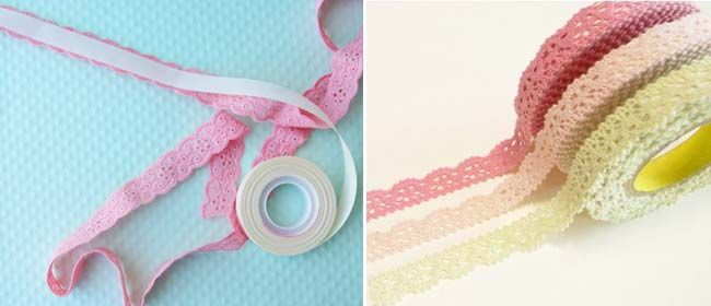 Craft DIY: Lace tape