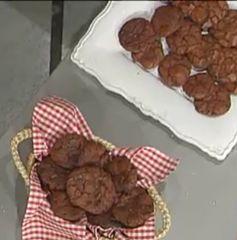Cuochi per caso...o per forza!!: Biscotti al triplo Cioccolato da La Prova del Cuoc...