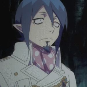 Blue Exorcist Birthday Cake Gif