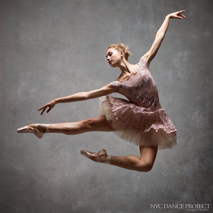 Miriam Miller, New York City Ballet. NYC Dance Project.  Ken Browar and Deborah Ory, a study of dance and movement