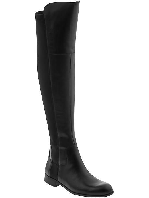 {amazing over the knee boots for under $100 - these beauties are nearly identical to the much pricier stuart weitzman 50/50 version!}