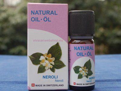 Neroliöl Vivasan hilft bei seelischer Erschöpfung. Neroliöl wirkt angstlösend, harmonisierend, erheiternd und wärmend.