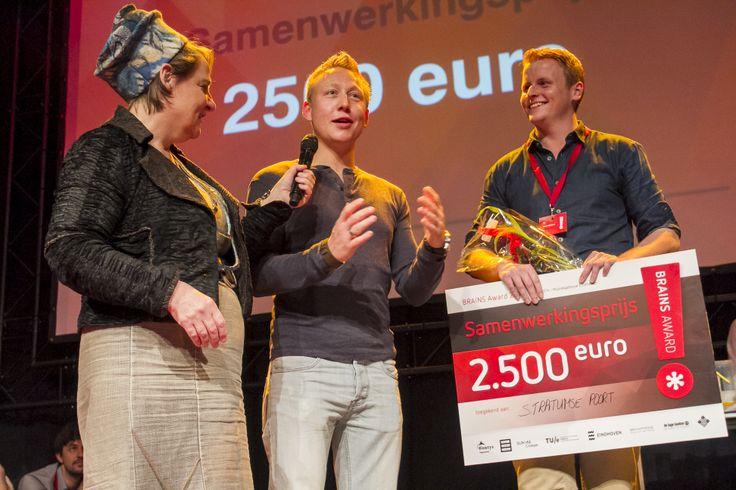 Samenwerkingsprijs: Paul Jansen (TU/e) en Marco Baetsen (Fontys)