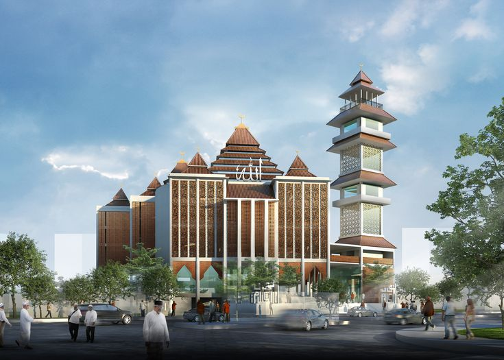 Sayembara Desain Masjid Agung Pemalang, Ihotasi & Tim, 2016