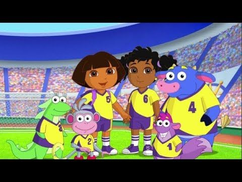 Dora the Explorer Full Episodes | Dora Super Soccer, Charm Magic, Party ...