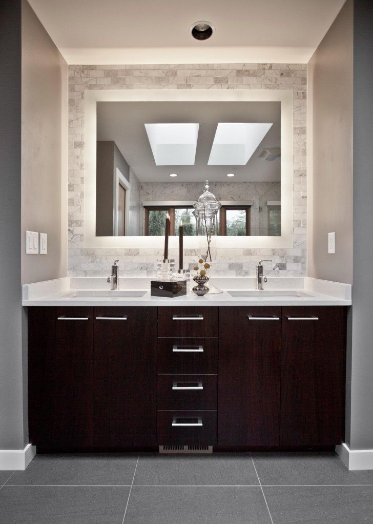 Best 25+ Bathroom Vanity Mirrors Ideas On Pinterest | Bathroom Mirrors,  White Double Vanity And Black Bathroom Mirrors