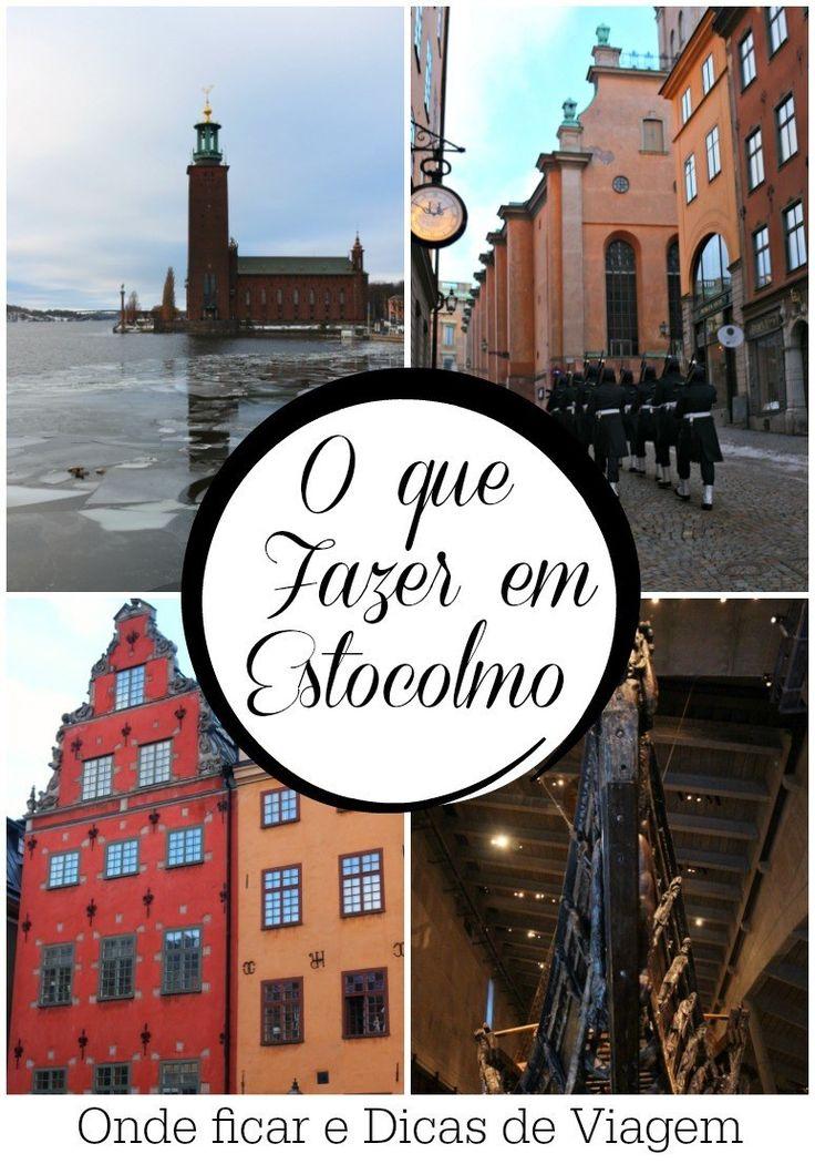 Dicas de viagem e o que fazer em Estocolmo, Suécia. Atrações, lugares para visitar durante o inverno e onde ficar em Estocolmo. Tudo para planejar sua próxima viagem. via @loveandroad