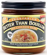 Better Than Bouillon Vegan No Chicken Base