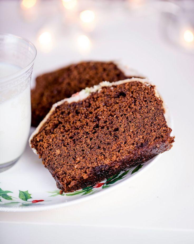 Skandynawskie ciasto imbirowe | kornik w kuchni