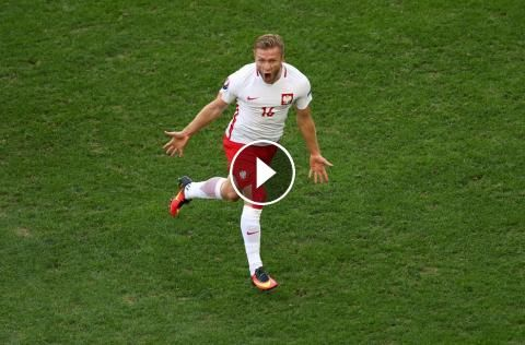Football Highlights from UEFA Euro 2016 group C match: Ukraine vs Poland Match result: Ukraine 0 - 1 Poland Played on: June 21, 2016 Venue:Stade Velod...