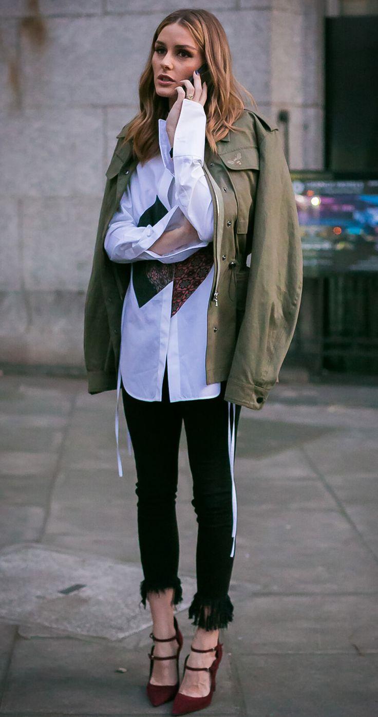 Découvrez tous nos looks sur le Blog de Shopsquare : nouvelle-collection.com #mode #femme #streetstyle #militaire #chic