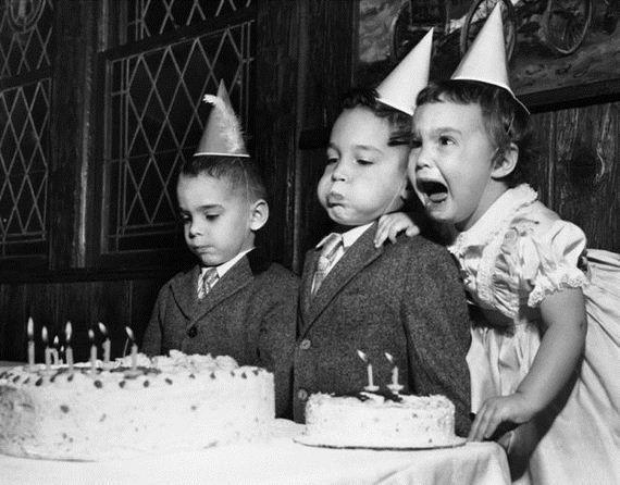 vintage birthday party photos - Google Search