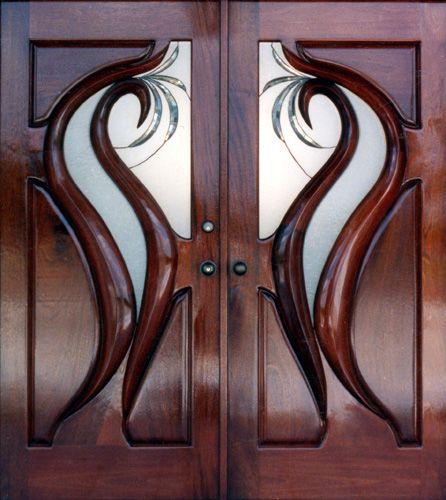 custom mahogany doors french doors wooden church doors entry door mahogany mouldings