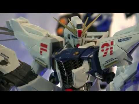 METAL BUILD - Gundam F91 - ガンダムF91 @ Tamashii Nations Akiba Showroom