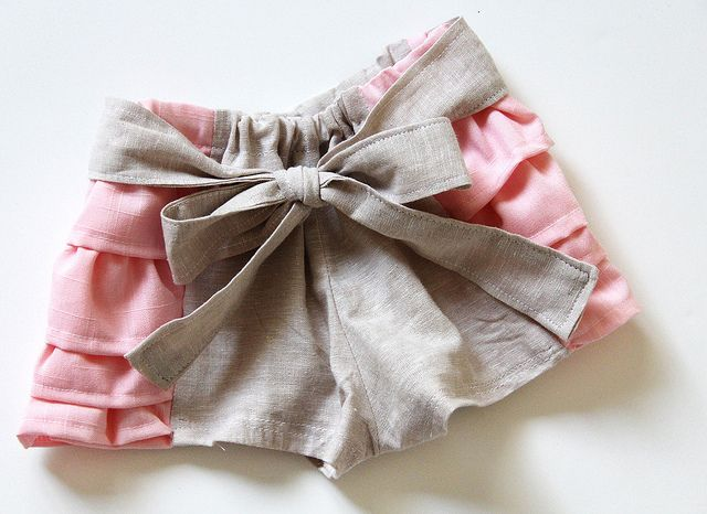 Ruffled Bloomers Pattern and Tutorial...