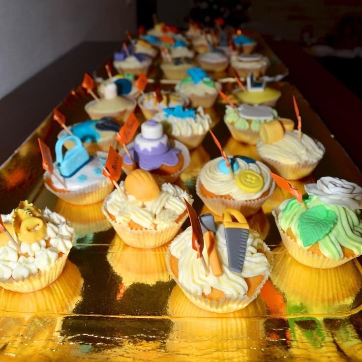 L'acqua che bolle fa blog blog: Cup cakes segnaposto