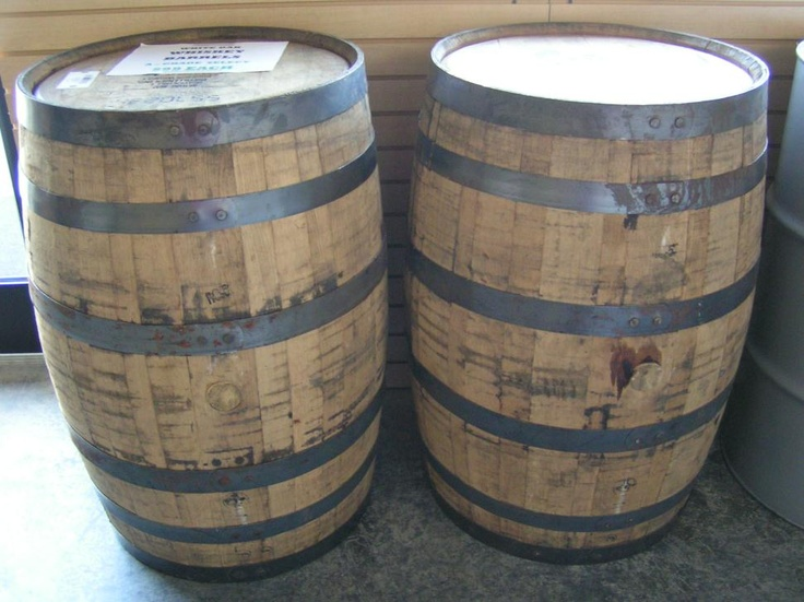 Kentucky Barrels - Whiskey Barrels for sale - always wondered where one  might purchase these! for a table