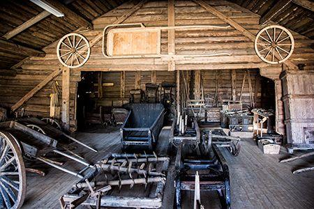 Torgare - museum. Farming tools etc. Kronoby
