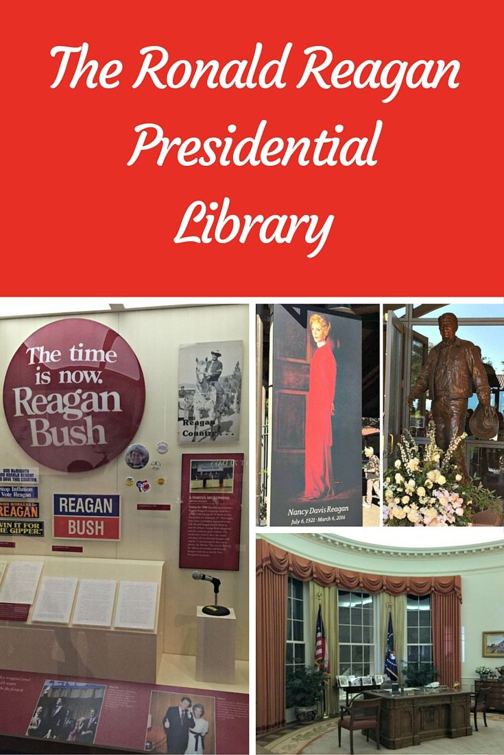 The Ronald Reagan Presidential Library is definitely worth the stop and price tag. The Museum is state-of-the-art and admission price comes with the Air Force One entry as well.