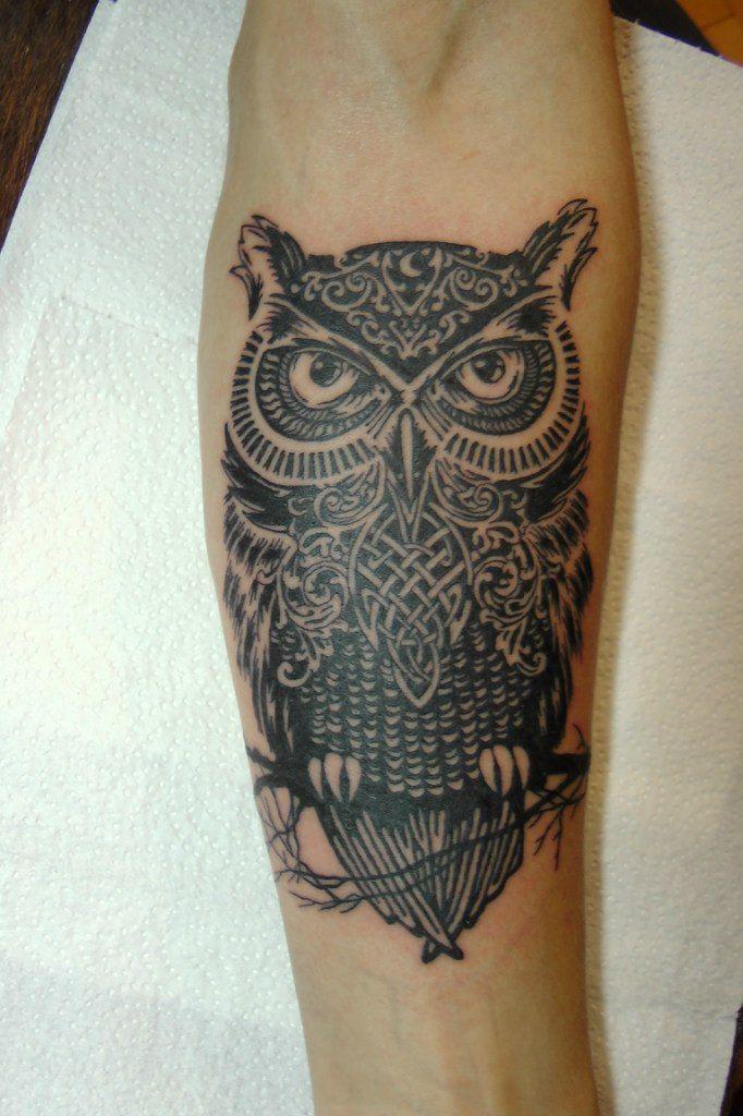 Татуировка совы Фото и значение тату