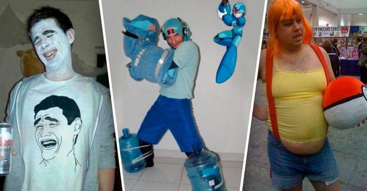 En el mundo de las personas que hacen cosplayers no existe ningún tipo de limites a la hora de realizar sus atuendos, como en le caso de estos 13 ridículos disfraces