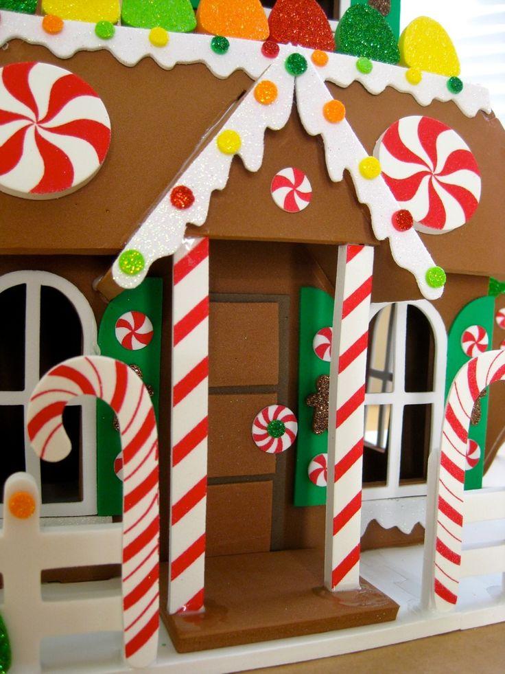 my foam gingerbread house