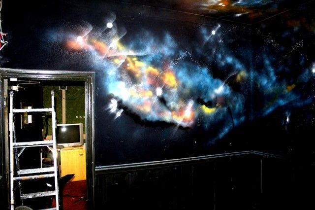 17 best images about the flaw in the system on pinterest for Space themed murals