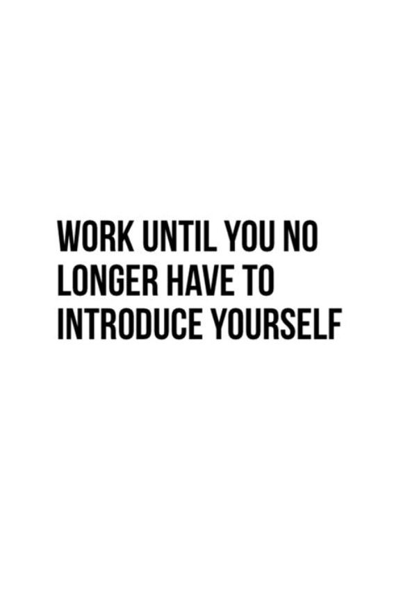 A Work Hard Success Quotes