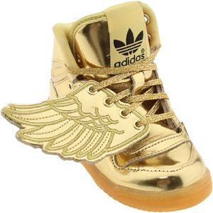 adidas jeremy scott gold wings metallic mirror