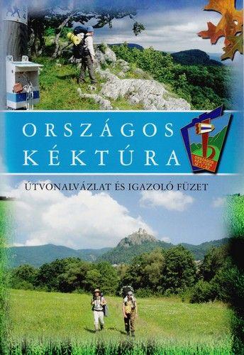Országos Kéktúra útvonalvázlat és igazolófüzet