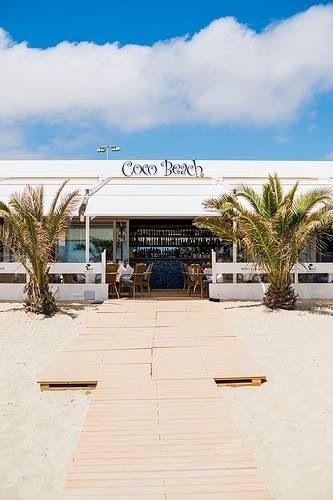 Coco Beach Ibiza; Playa d'en Bossa
