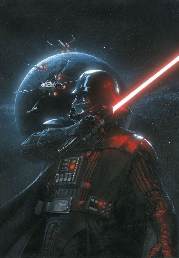 Star Wars: Vader Down #1 variant cover by Gabriele Dell'Otto *