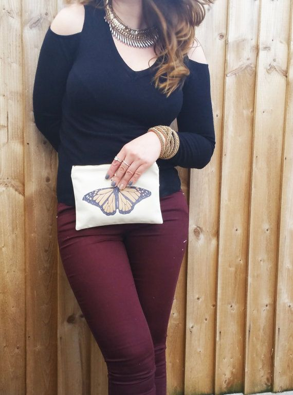 Check out this item in my Etsy shop https://www.etsy.com/uk/listing/484374933/autumn-gold-butterfly-makeup-bag-day