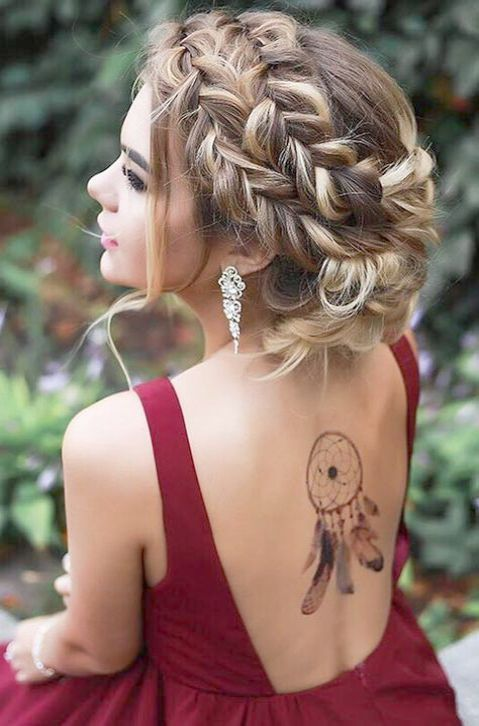 hair hairstyles styles updo near prom relationshipspin xyz braids salon