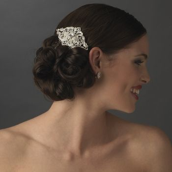 Vintage Inspired Bridal Hair Comb   - dazzling headpiece for any bride~