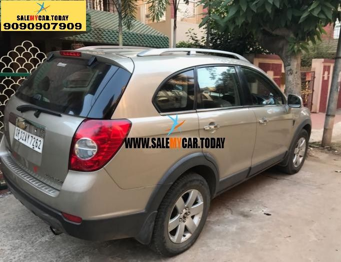 Salemycar Today Second Hand Captiva For Sale In Bhubaneswar