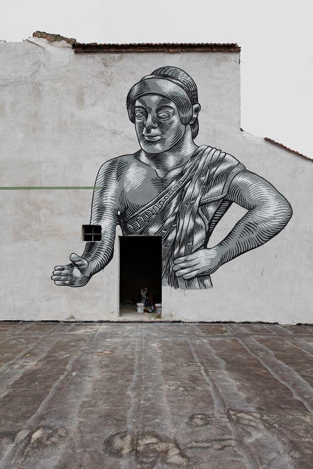 Lucamaleonte – New Mural in Prato