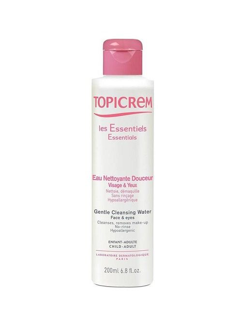 TOPICREM GENTLE CLEANSING WATER 200ML