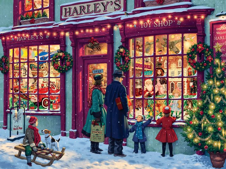 Harleys Toy Shop By Steve Read
