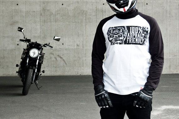 100% Asphalt Friendly Tee-Unisex motorcycle Tee-Men's by 71Bandits