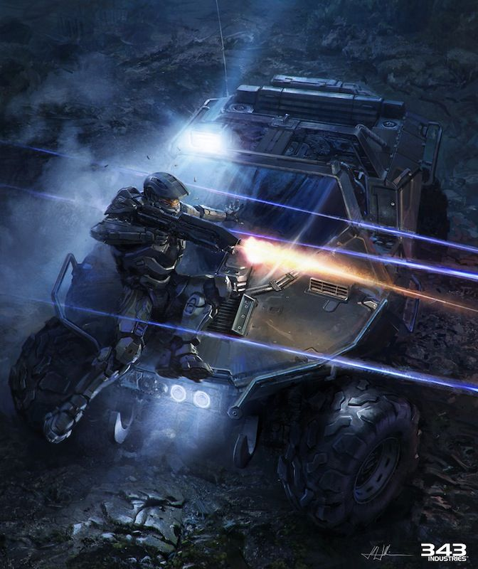 Halo 4 Concept & Promotional Art