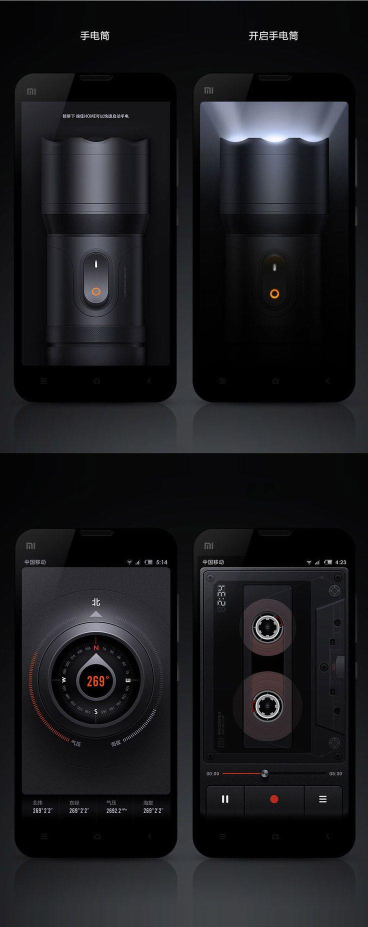 Mixed UI/UX design.