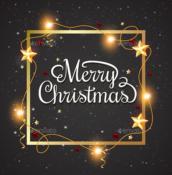 Decorative Christmas Frame Vector EPS #design Download: http://graphicriver.net/item/decorative-christmas-frame-/13799646?ref=ksioks