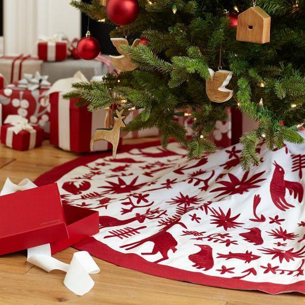christmas tree skirts - 600×600