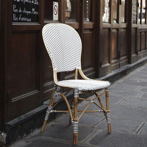 Les 25 meilleures id es concernant fibre synth tique sur - Chaise en osier blanc ...
