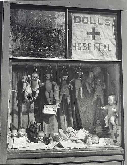 Max Dupain - The Dolls' Hospital.