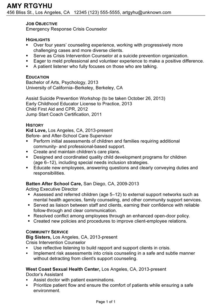 Best 25+ Resume cover letter examples ideas on Pinterest Job - community service letter